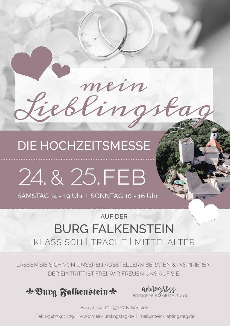 Hochzeitsmesse auf der Burg Falkenstein