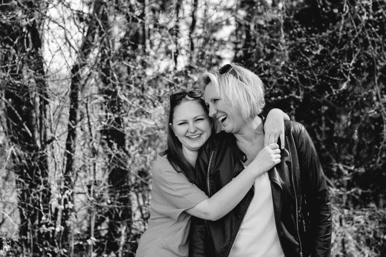 Lache, lebe, liebe – Familienfotos