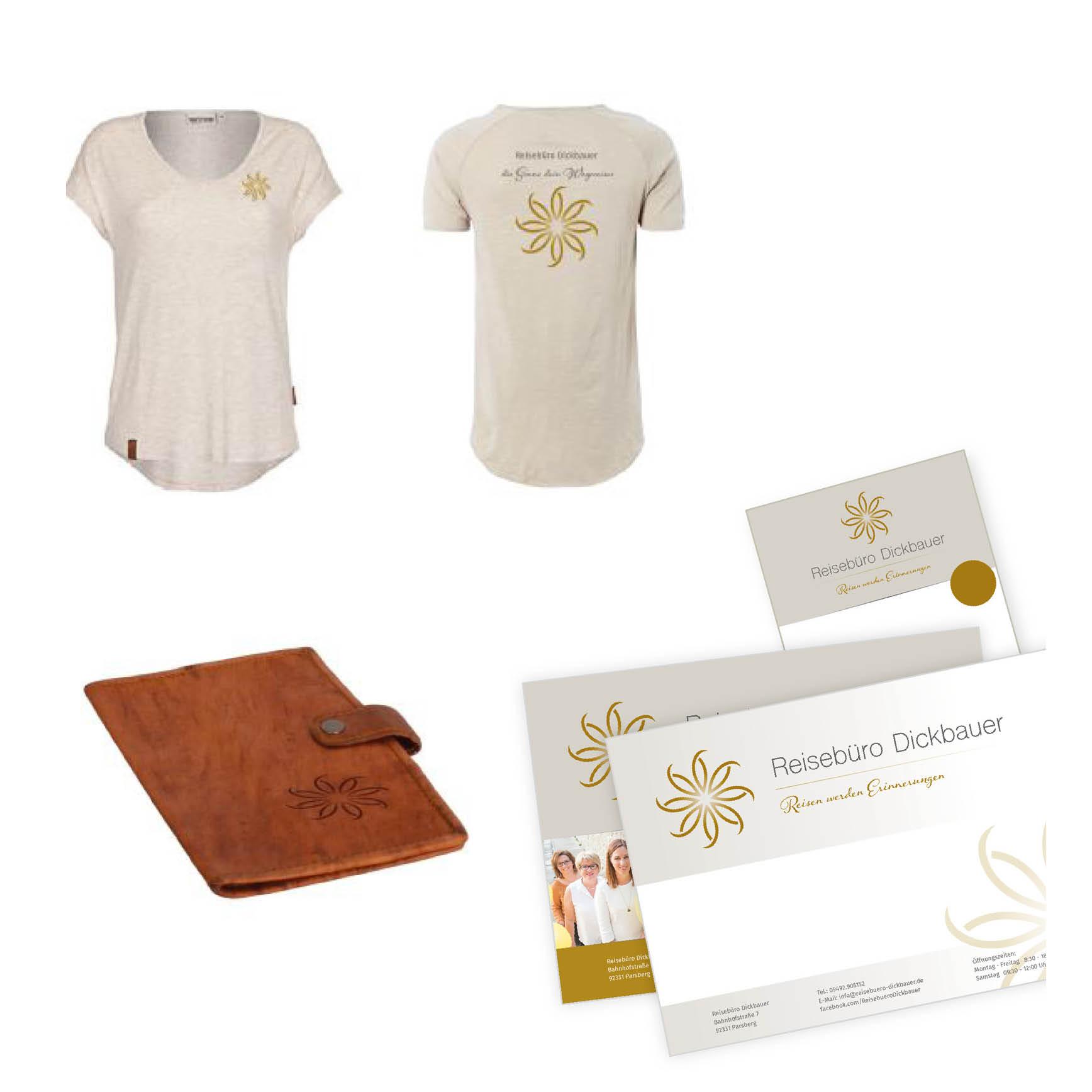 Geschäftsausstattung und Shirts